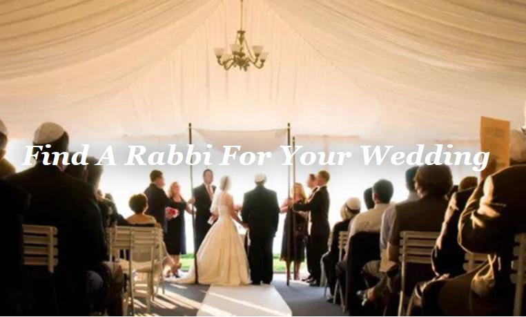 Wedding Rabbi Home Image